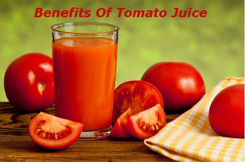 Benefits Of Tomato Juice
